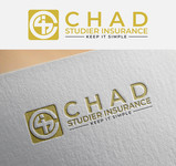 Chad Studier Insurance Logo - Entry #71