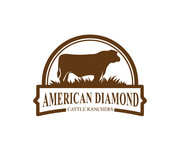 American Diamond Cattle Ranchers Logo - Entry #113