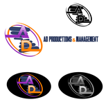 Corporate Logo Design 'AD Productions & Management' - Entry #123