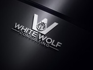 White Wolf Consulting (optional LLC) Logo - Entry #387