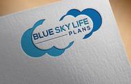 Blue Sky Life Plans Logo - Entry #375