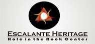 Escalante Heritage/ Hole in the Rock Center Logo - Entry #19