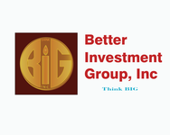 Better Investment Group, Inc. Logo - Entry #95