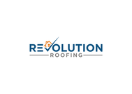 Revolution Roofing Logo - Entry #128