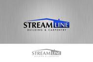 STREAMLINE building & carpentry Logo - Entry #149