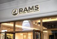 Rams Duty Free + Smoke & Booze Logo - Entry #7