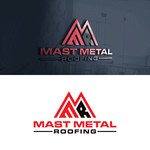 Mast Metal Roofing Logo - Entry #292