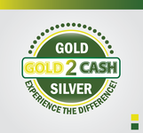 Gold2Cash Logo - Entry #14