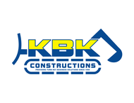 KBK constructions Logo - Entry #132