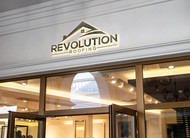 Revolution Roofing Logo - Entry #191