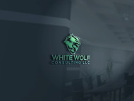 White Wolf Consulting (optional LLC) Logo - Entry #155