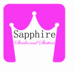 Sapphire Shades and Shutters Logo - Entry #175