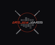 arejay james Logo - Entry #50