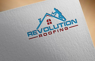Revolution Roofing Logo - Entry #70