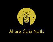 Allure Spa Nails Logo - Entry #100
