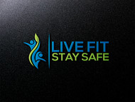 Live Fit Stay Safe Logo - Entry #31