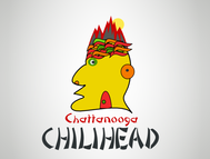 Chattanooga Chilihead Logo - Entry #29