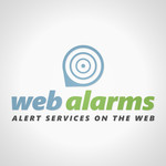 Logo for WebAlarms - Alert services on the web - Entry #135