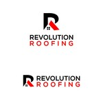 Revolution Roofing Logo - Entry #354