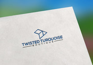 Twisted Turquoise Boutique Logo - Entry #55