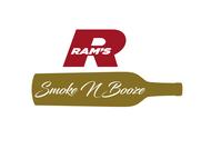 Rams Duty Free + Smoke & Booze Logo - Entry #284