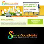 Sasha's Social Media Logo - Entry #110