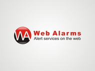 Logo for WebAlarms - Alert services on the web - Entry #86