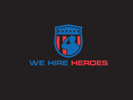 """We Hire Heroes""  Or ""We Hire Veterans"" Logo - Entry #27"