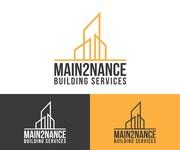 MAIN2NANCE BUILDING SERVICES Logo - Entry #164