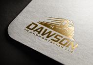 Dawson Transportation LLC. Logo - Entry #89