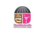 Black umbrella coffee & cocktail lounge Logo - Entry #22