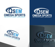 Omega Sports and Entertainment Management (OSEM) Logo - Entry #73
