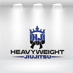 Heavyweight Jiujitsu Logo - Entry #169