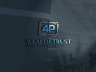 4P Wealth Trust Logo - Entry #374