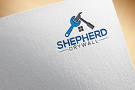 Shepherd Drywall Logo - Entry #195