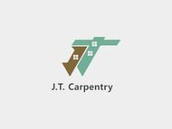 J.T. Carpentry Logo - Entry #28