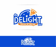DELIGHT Pizza & Wings  Logo - Entry #60