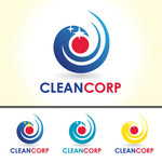 B2B Cleaning Janitorial services Logo - Entry #126