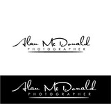 Alan McDonald - Photographer Logo - Entry #4