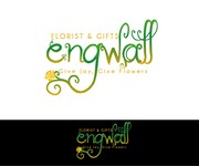 Engwall Florist & Gifts Logo - Entry #99