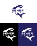 Sewer Shark Logo - Entry #24