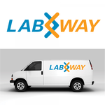 Laboratory Sample Courier Service Logo - Entry #84