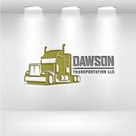 Dawson Transportation LLC. Logo - Entry #238