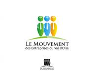 Le Mouvement des Entreprises du Val d'Oise Logo - Entry #20