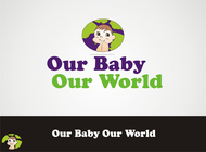 Logo for our Baby product store - Our Baby Our World - Entry #88