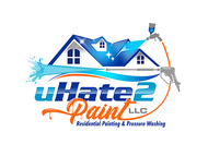 uHate2Paint LLC Logo - Entry #141