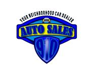 910 Auto Sales Logo - Entry #4