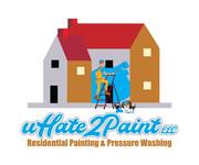 uHate2Paint LLC Logo - Entry #51