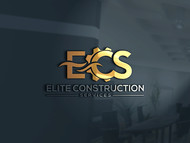 Elite Construction Services or ECS Logo - Entry #212