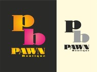 Either Midtown Pawn Boutique or just Pawn Boutique Logo - Entry #21